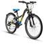 s'cool XXlite 24 21-S - Vélo enfant - steel noir